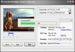 extract mp3 dvd