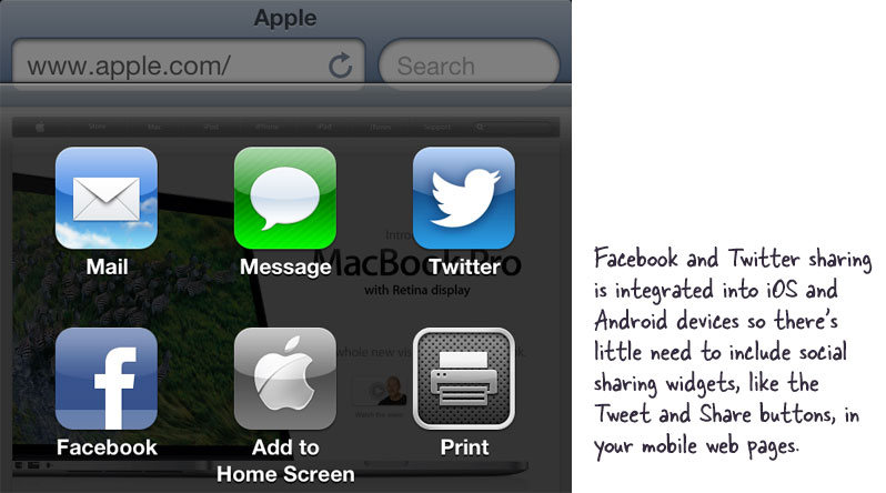 Facebook, Twitter Integration with iOS