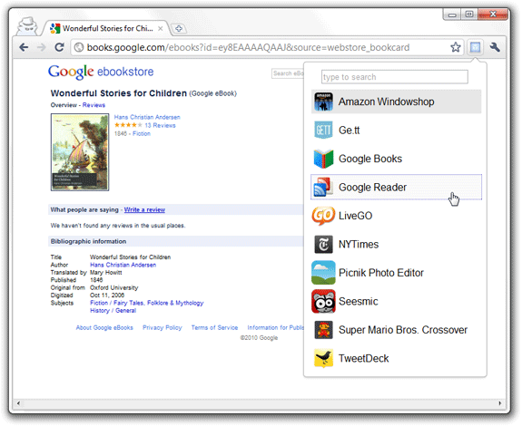 launch chrome apps
