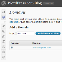 Add Domain to WordPress.com Blog