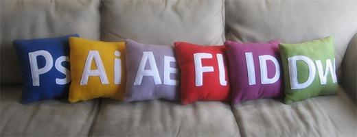 adobe icon pillows