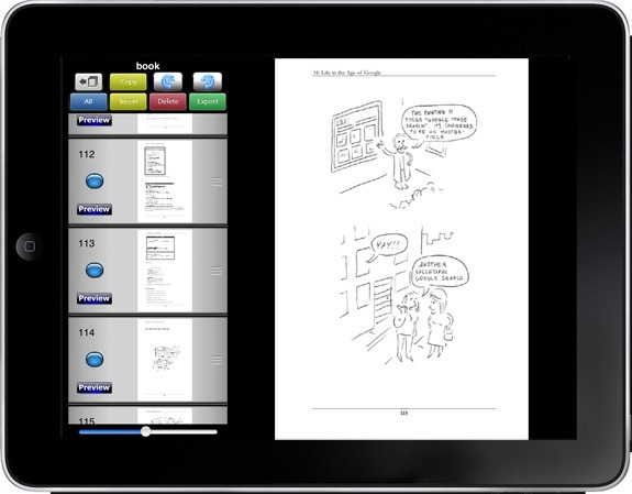 edit PDF on iPad
