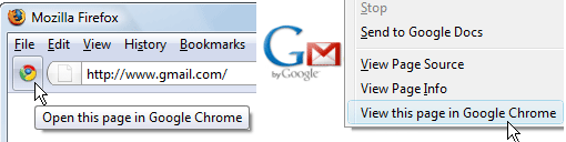 google chrome from firefox