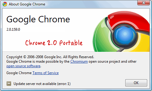 google browser portable
