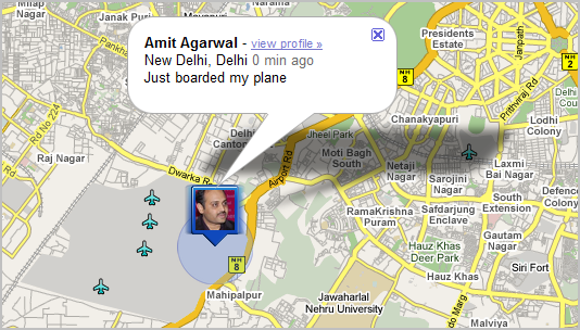 Location Tracking with Google Latitude