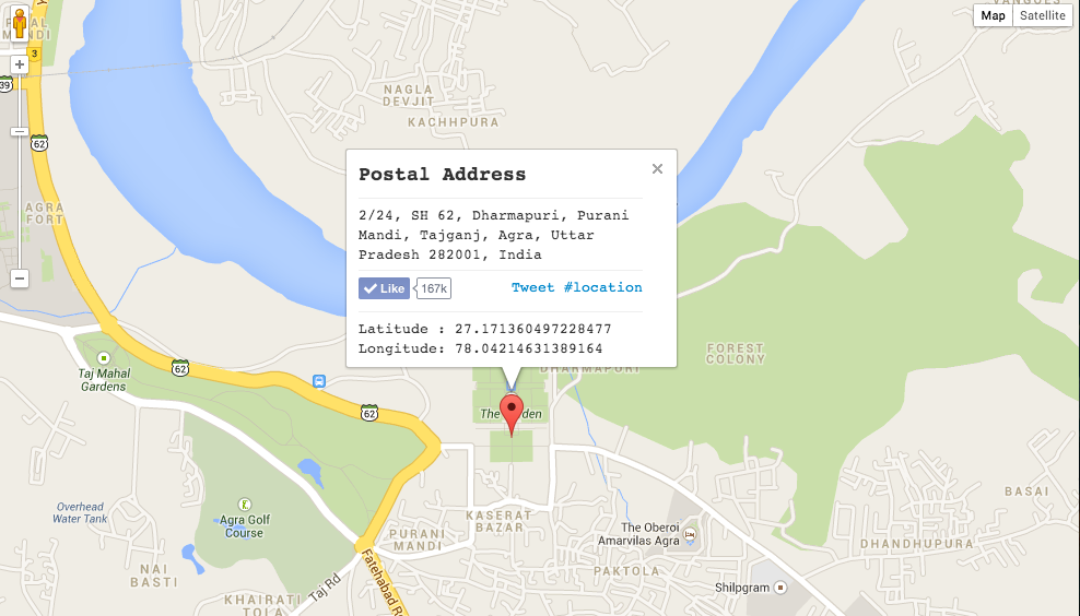Find The Latitude And Longitude Of Any Place With Google Maps