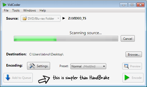 vidcoder vs handbrake
