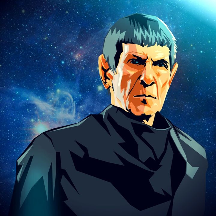 Google Drawing - Leonard Nimoy