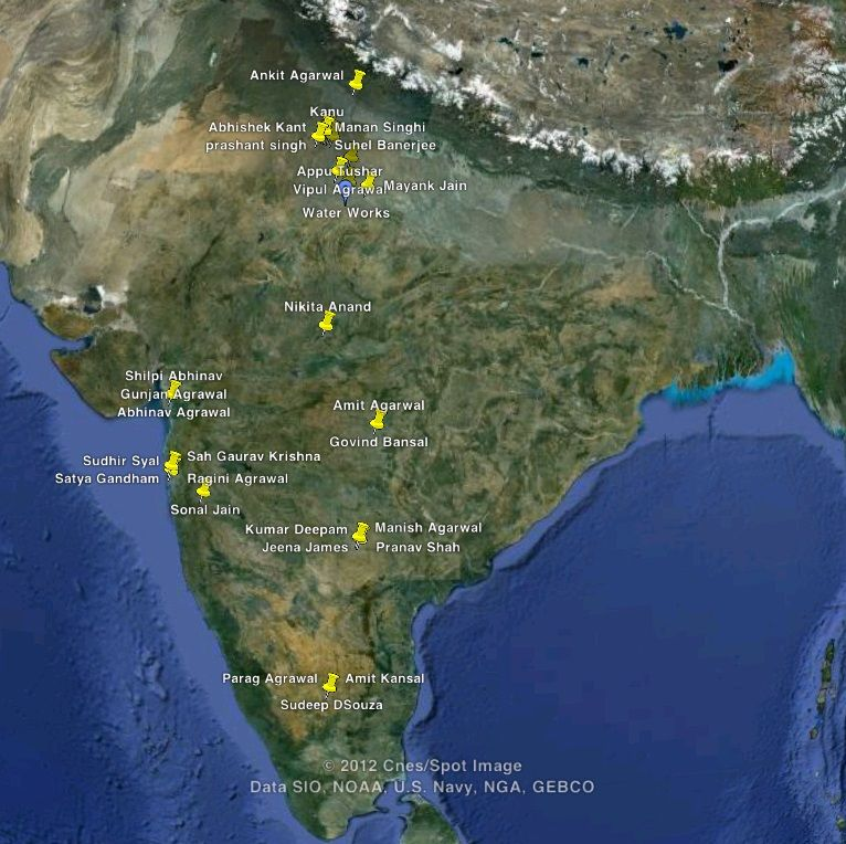 See All Your Google Contacts On A Google Map Digital Inspiration