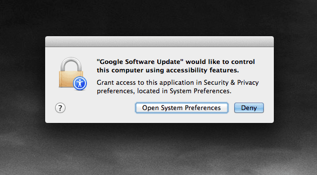 Google Software Update Mac