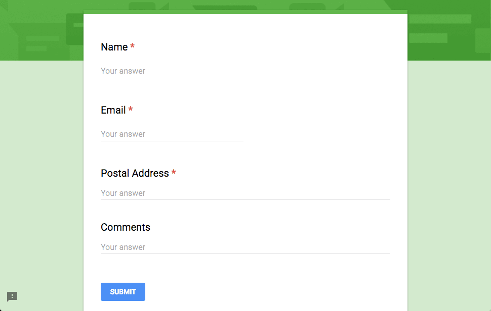 How to Generate PDF files from Google Form Responses