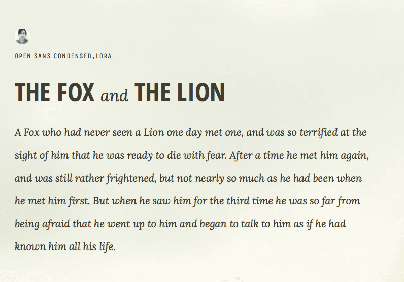 The Best Google Font Combinations That Look Good Together Digital Inspiration