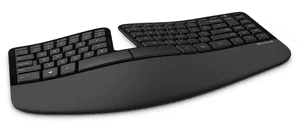 Ergonomic Keyboard for Touch Typing