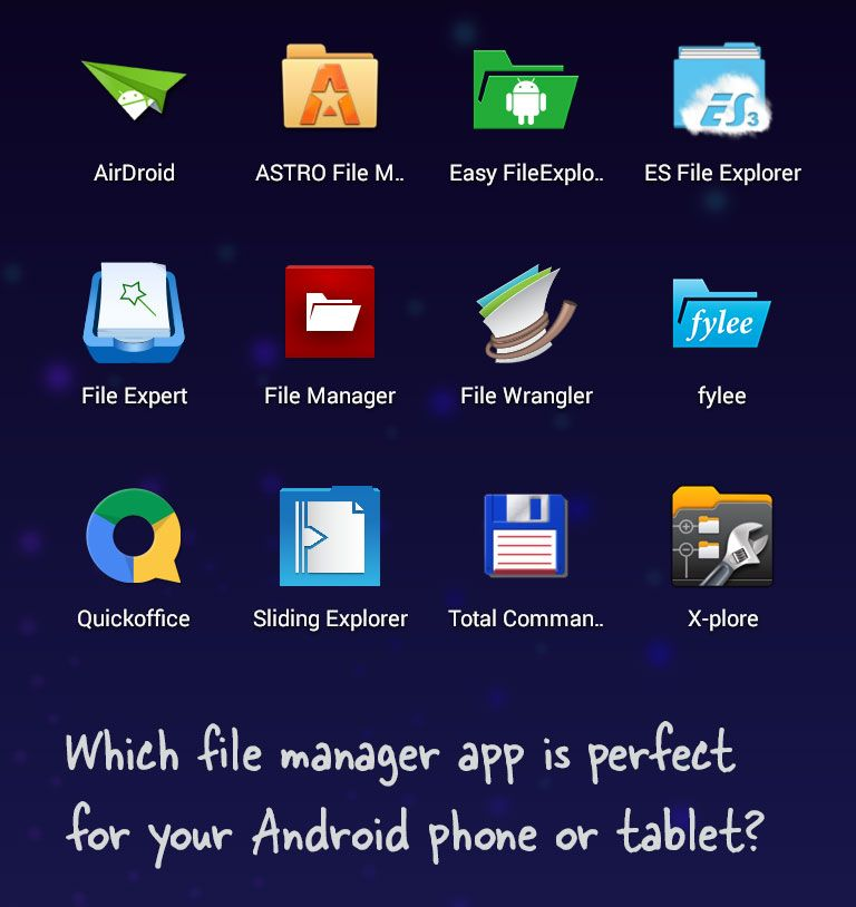 Find The Perfect File Manager App For Your Android Digital Inspiration