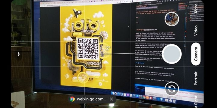 Scan QR Codes with Google Camera