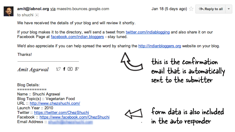 How To Send Confirmation Emails With Google Forms Digital Inspiration