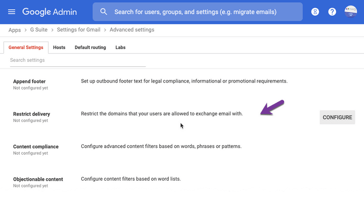 Block Incoming Emails in Gmail